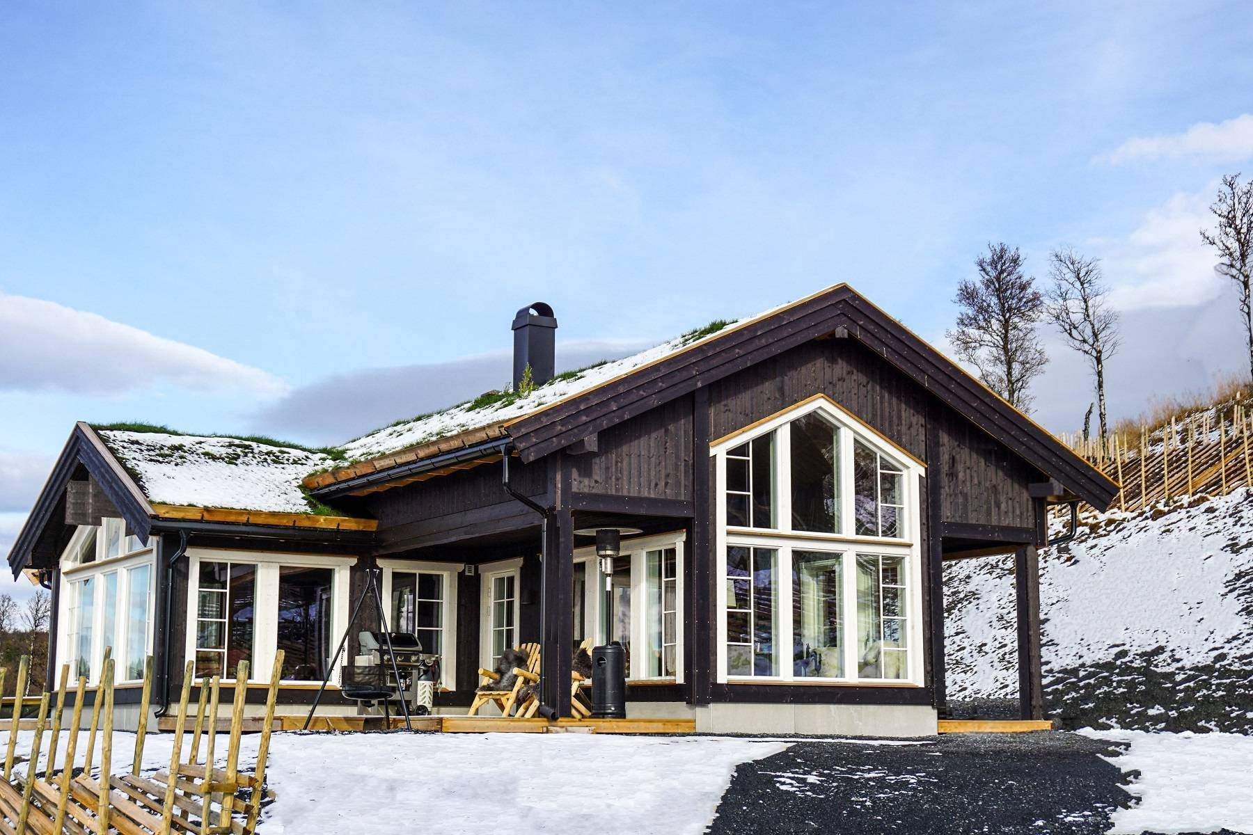 1024 Hyttemodell Stryn 122 – Hytteleverandør Tiurtoppen Hytter
