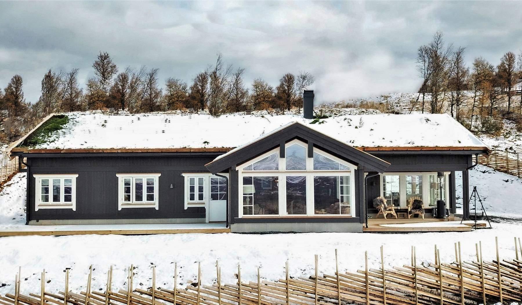 1070 Hyttemodell Stryn 122 – Hytteleverandør Tiurtoppen Hytter
