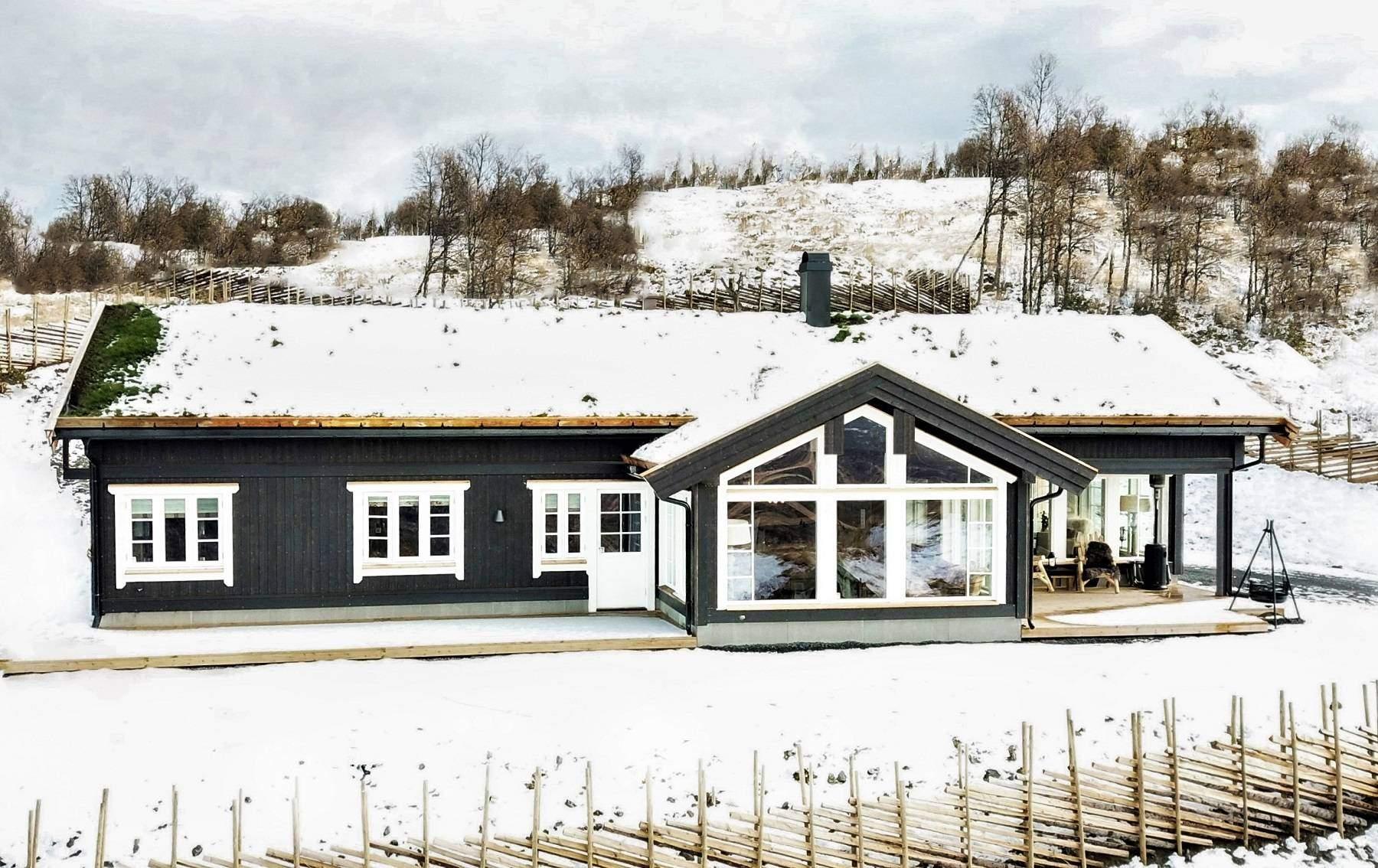 1075 Hyttemodell Stryn 122 – Hytteleverandør Tiurtoppen Hytter