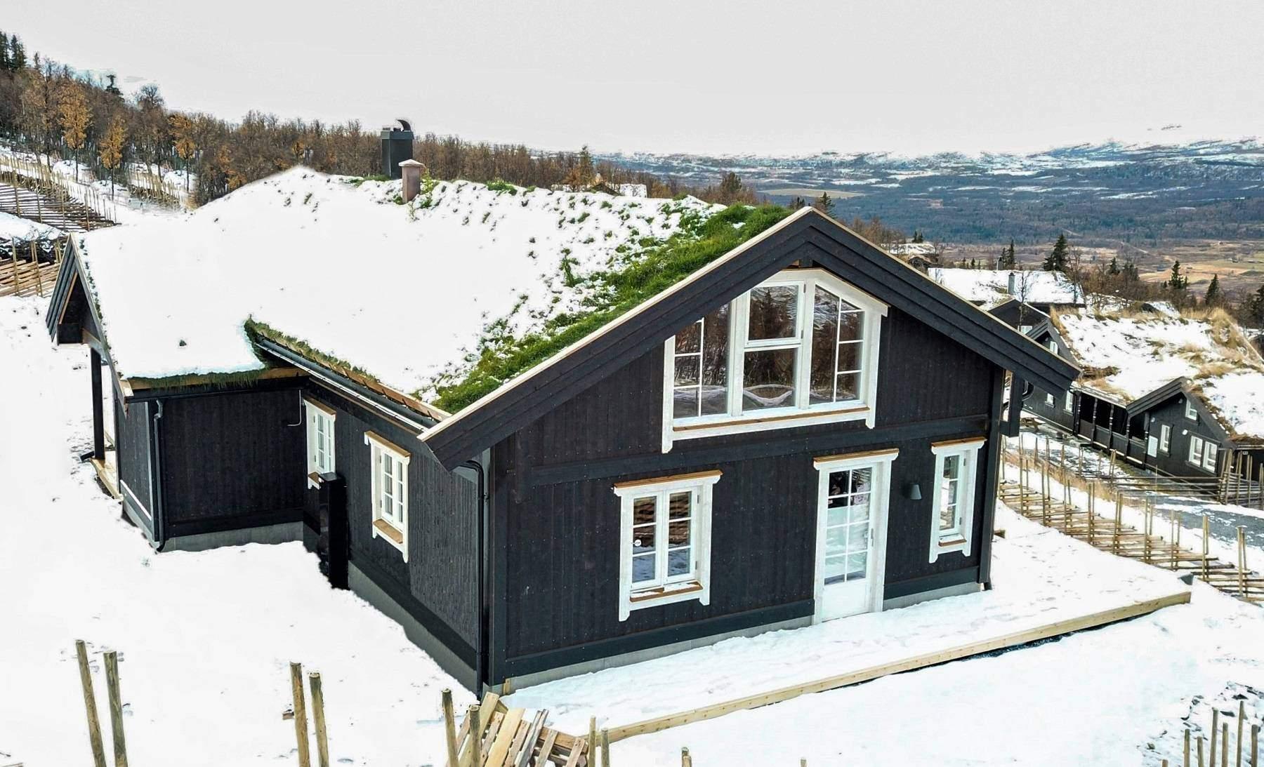 1095 Hyttemodell Stryn 122 – Hytteleverandør Tiurtoppen Hytter