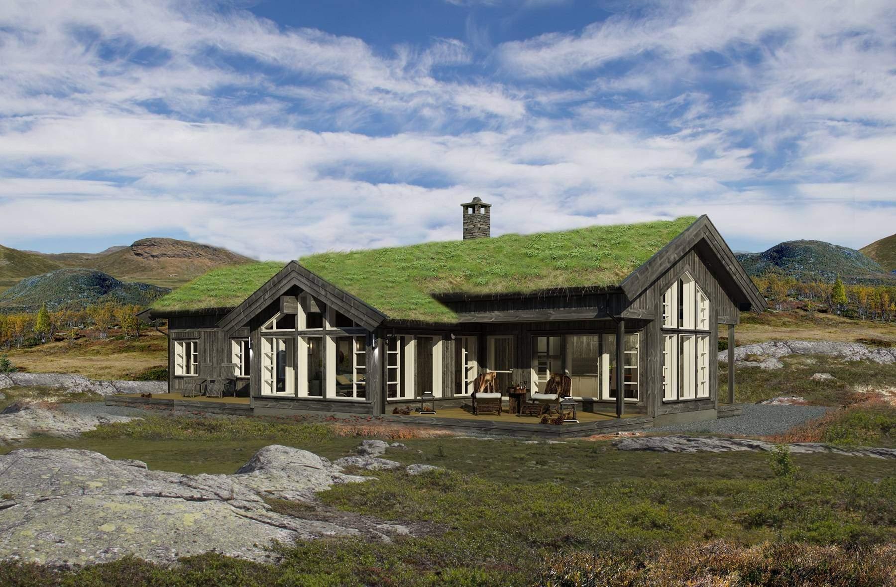 12 Hyttemodell Strynsfjell 122