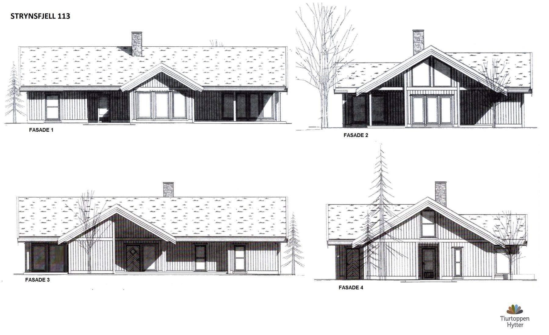 14 Strynsfjell 113 Fasader