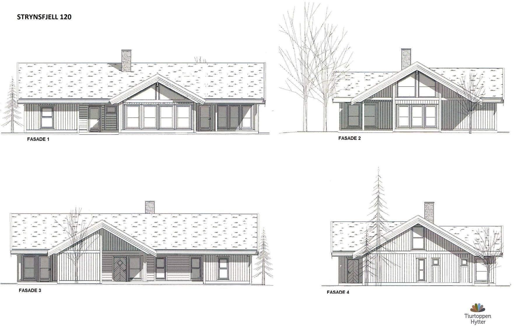 14 Strynsfjell 120 Fasader