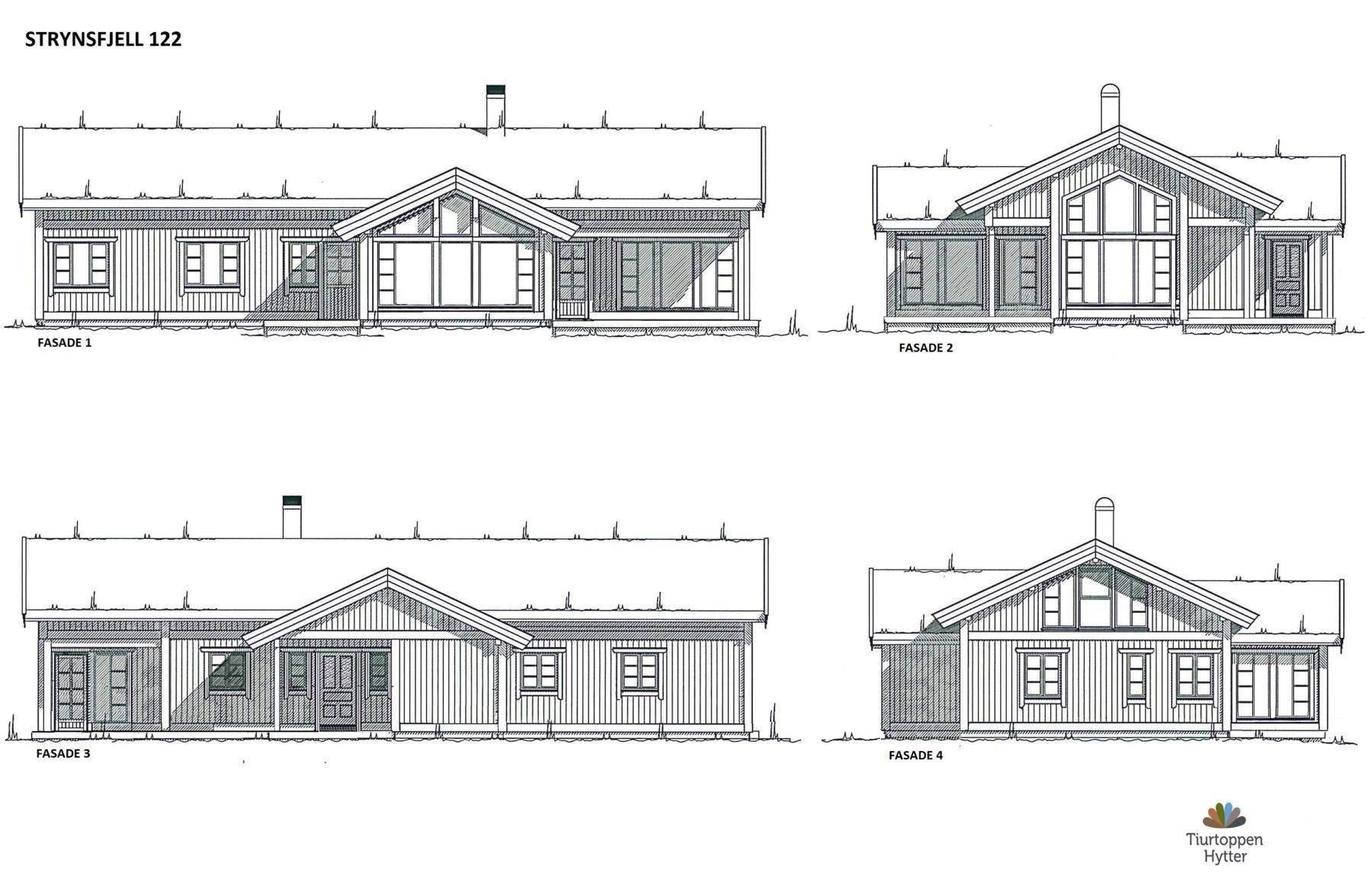 14 Strynsfjell 122 Fasader