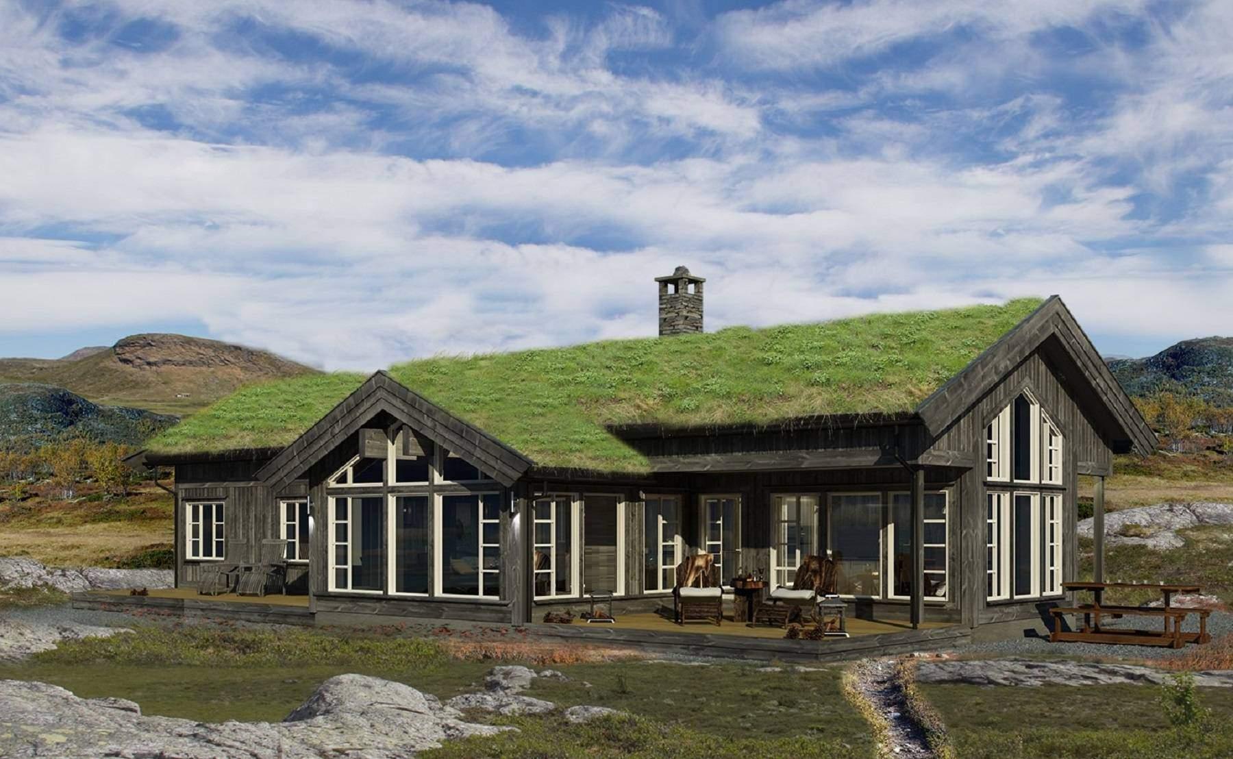 16 Strynsfjell 122 Fasade
