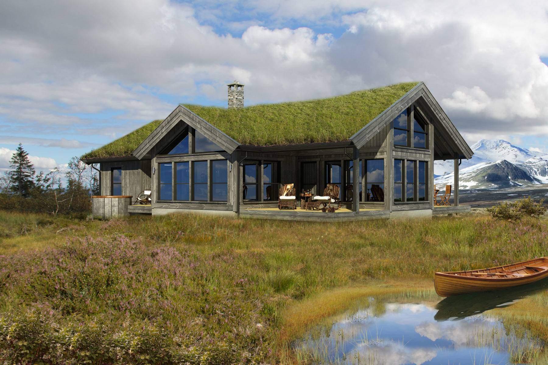 70 Hyttemodell Strynsfjell 120_