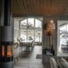 250 Hytteinteriør Hytteinspirasjon Strynsfjell 122 på Høyset Panorama Vaset. Fra stua mot spisestue